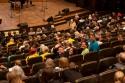 Über den Samstag verteilt fanden immer wieder interessante Vorträge im Hauptsaal statt.