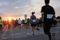 Über 350 (!) Teilnehmer laufen ohne Zeitnahme und mit und ohne Erkrankung bzw. Behinderung gemeinsam 5 bis 10 Kilometer. Und haben Spass dabei.