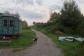 Klein Hundorf bei Gadebusch ist schon seit der MUT-TOUR 2012 Übernachtungsort. Es ist kein astreines Ökodorf, aber die Teilnehmer können einmal sehen, wie anders leben in Deutschland aussehen kann.