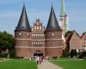 Also fuhren sie zwischen der Etappe 7 und 8 von Lübeck nach Lübeck (-: