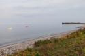 Kurz vor Damp wird es richtig-richtig idyllisch an der Ostsee. Schönst!