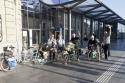 Alle 6 Fahrer sind in Luxemburg am bahnhof angekommen