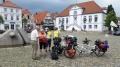In sehr idyllischen Quakenbrück (Niedersachsen), geben wir am zweiten Tag bereits das elfte Interview – von insgesamt 24 bis Sonntag im Team 1.