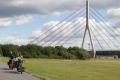 Am Rhein die erste große Brücke..