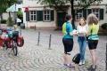 Die dritte Etappe startet in Bensheim und führt uns an der Bergstraße übers malerische Weinheim gen..