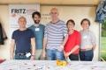 Das FRITZ am Urban stellt sich auf dem Markt als psychosozialer Partner vor (Foto www. throughmyeyes.de)