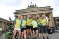 Das Kernteam der letzten Tandem-Etappe von Nürnberg nach Berlin. (Foto: www.joannakosowska.com)