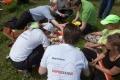 Torben und Nicole vom BgD Leipzig haben ein Picknick organisiert.