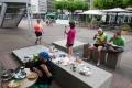 In Mühlheim an der Ruhr frühstücken wir öffentlich (-: