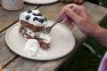 Kurz hinter Hohen Viecheln kehren die meisten Wismarer um – und wir treffen bei Kaffee und Kuchen auf die Schweriner.