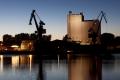 """Kurz vor Rendsburg verbrachten wir eine """"Nacht der Industriekultur"""" – ganz alleine.."""