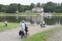 Etappe 6 wird die Fähren-Etappe. An der ersten von vier Gierfähren über die Elbe.