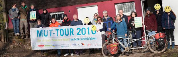 MUT-TOUR 2018 März Mitmach-Wochenende