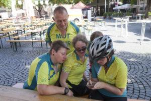 MUT-TOUR Team, Teilnehmer mit und ohne Depressionen