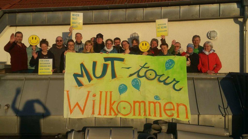 Treffen unserer Ehemaligen MUT-TOURler*innen im Winter in Bensheim