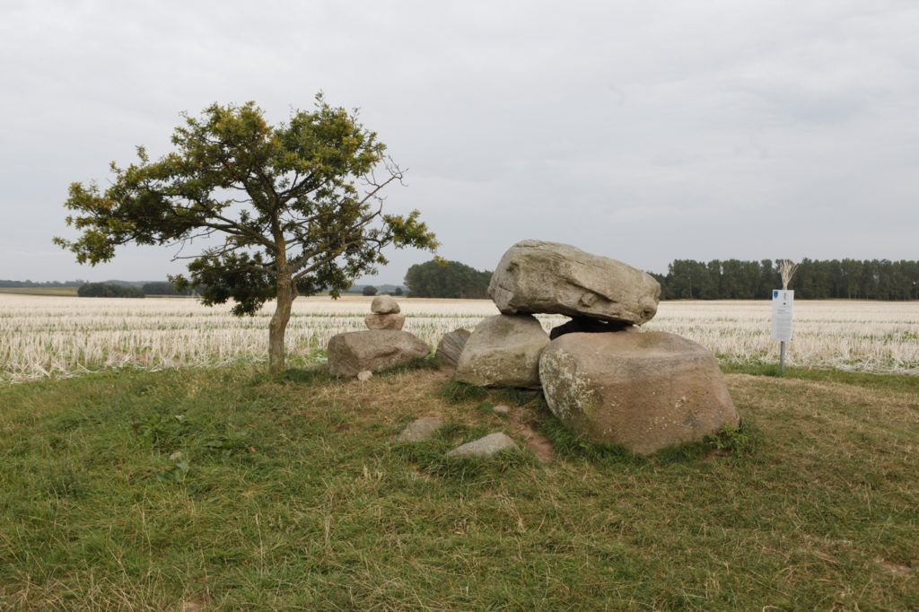Naturbild mit Steinformation