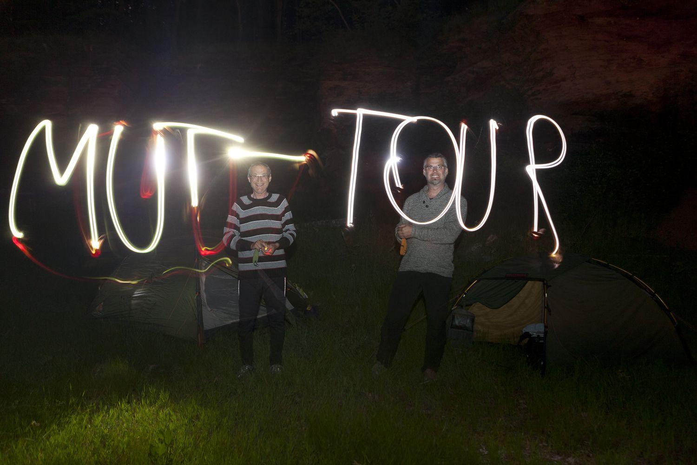 MUT-TOUR bei Nacht