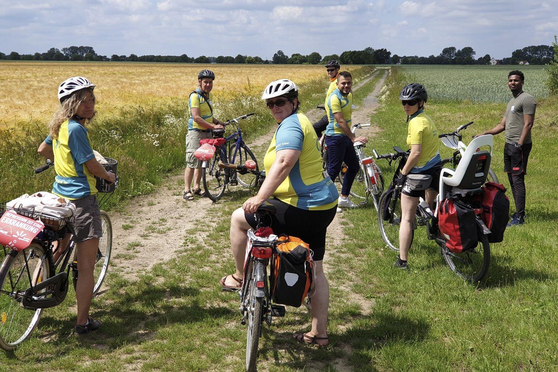 Fahrradtour im Zeichen für Entstigmatisierung von Depression