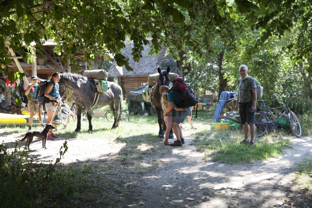 MT20 Klein Hundorf fertig machen der Pferde, letztes Packen