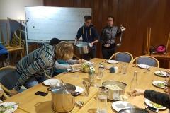 Am zweiten Abend gab es Kilo Weise  lecker Ratatouille mit Reis und Nudeln (-: