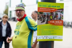 Infostand-Aktion in Berlin  / MUT-TOUR 2019 (Foto: Andreas Stenzel)