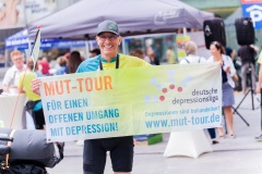 Start der MUT-TOUR 2019 beim Aktionstag in Halle (Foto: Johannes Ruppel)