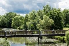 Auf der Mitfahr-Aktion ab Fulda in der Natur / MUT-TOUR 2019 (Foto: Johannes Ruppel)