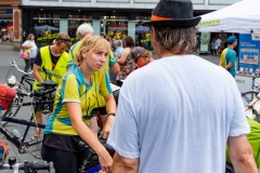Die Mitfahraktion ab Halle  / MUT-TOUR 2019 (Foto: Roman Schmidt / ZorroArt)